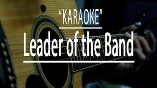 Leader of the band - acoustic karaoke