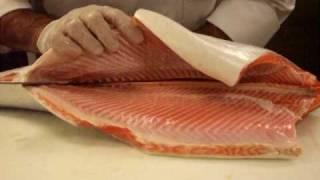 coho salmon preparation