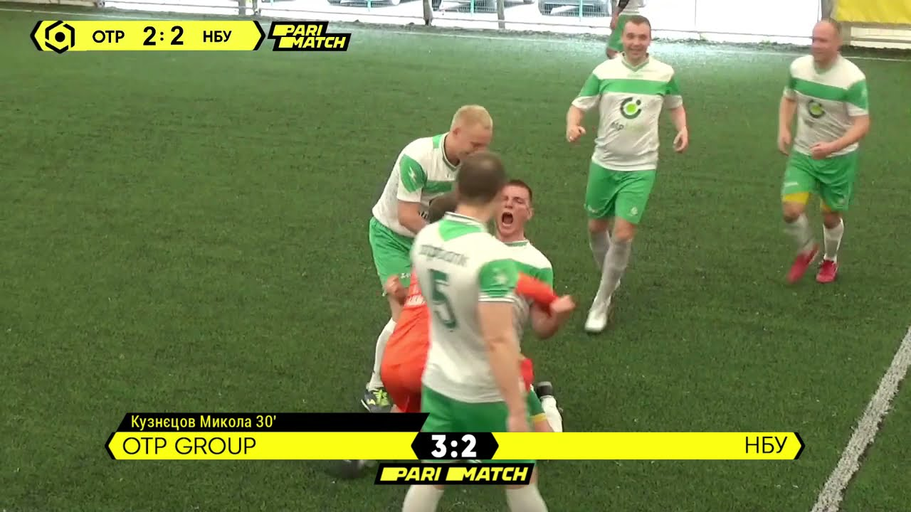 Огляд матчу   OTP Group 3 : 2 НБУ