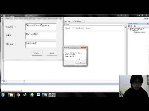 Cara Menampilkan Jam Pada Visual Basic 6.0