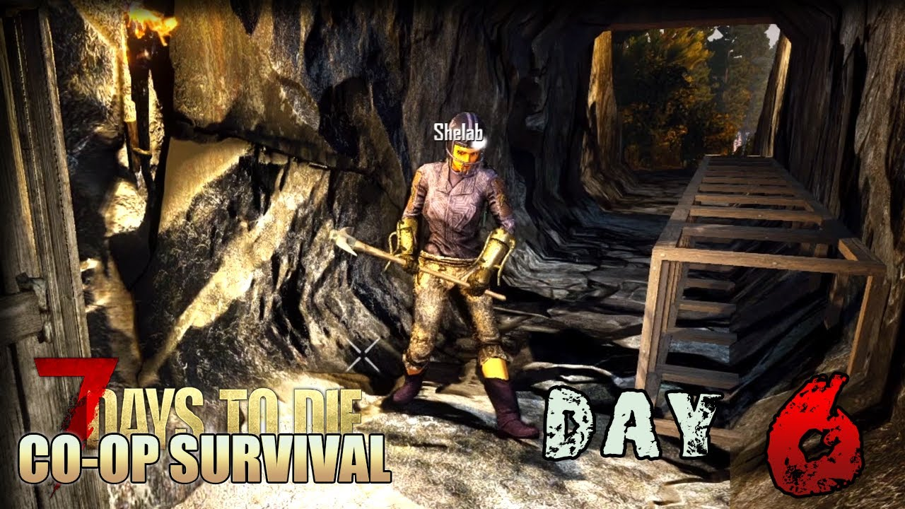 Tunnels Caves 7 Days To Die Alpha 18 Co Op Gameplay Let S