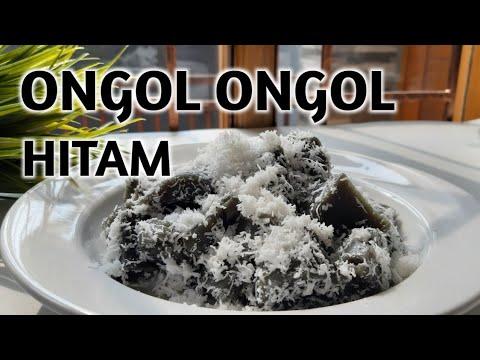 Cara Membuat Ongol Ongol Hitam Ireng Ireng Jajanan Tradisional Youtube
