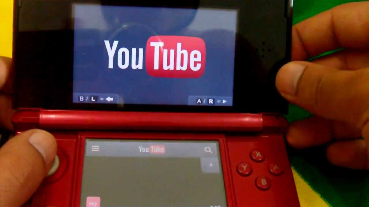 Youtube: YouTube No Nintendo 3DS App Oficial