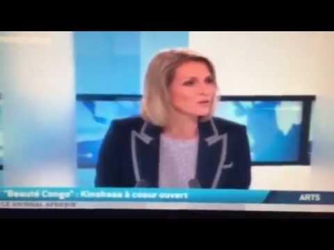 TV5Monde :Grosse RIGOLADE !!!!!!!!!! L'artiste peintre congolais Chéri Cherin