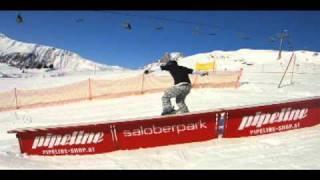 Autriche 2011-Snowpark-Warth-Schröcken-freestyle amateur