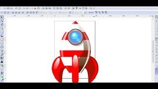 Video Tutorial de Inkscape en Español 7: Dibujar un Cohete