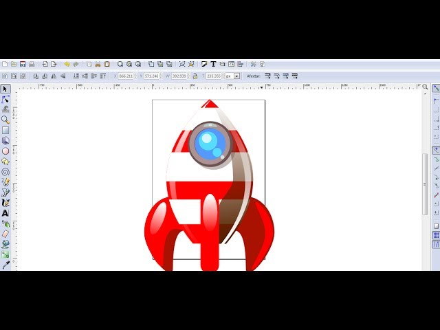 Video Tutorial de Inkscape en Español 7: Dibujar un Cohete Videos De Viajes