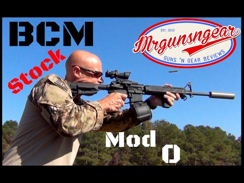 Bravo Company's New SOPMOD MOD 0 AR-15 Gunfighter Stock Review (HD)