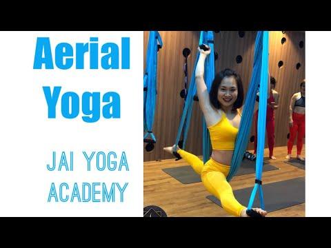 50 Minutes/ Aerial Yoga / Yoga fly / Antigravity yoga / Jai yoga Academy/ Master Rudra