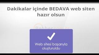 Bedava Web Siteniz Olsun-Rehber.com.tr
