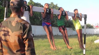 Indian Army Physical Fitness Test | Pull ups & Beam Score 40 Out 40 Marks | Live Video Full Guide