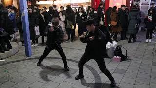 JHKTV] 홍대댄스 이너스hong dae  k-pop dance inners Shoot Out (English Version) - MONSTA X