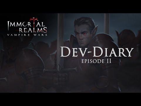 Immortal Realms: Vampire Wars - Dev-Diary Ep.2 (DE)