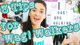 Here are my Top 3 Tips that can help you be the best Wag! Dog Walke...