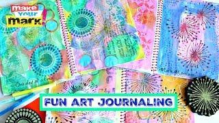 Fun Art Journaling