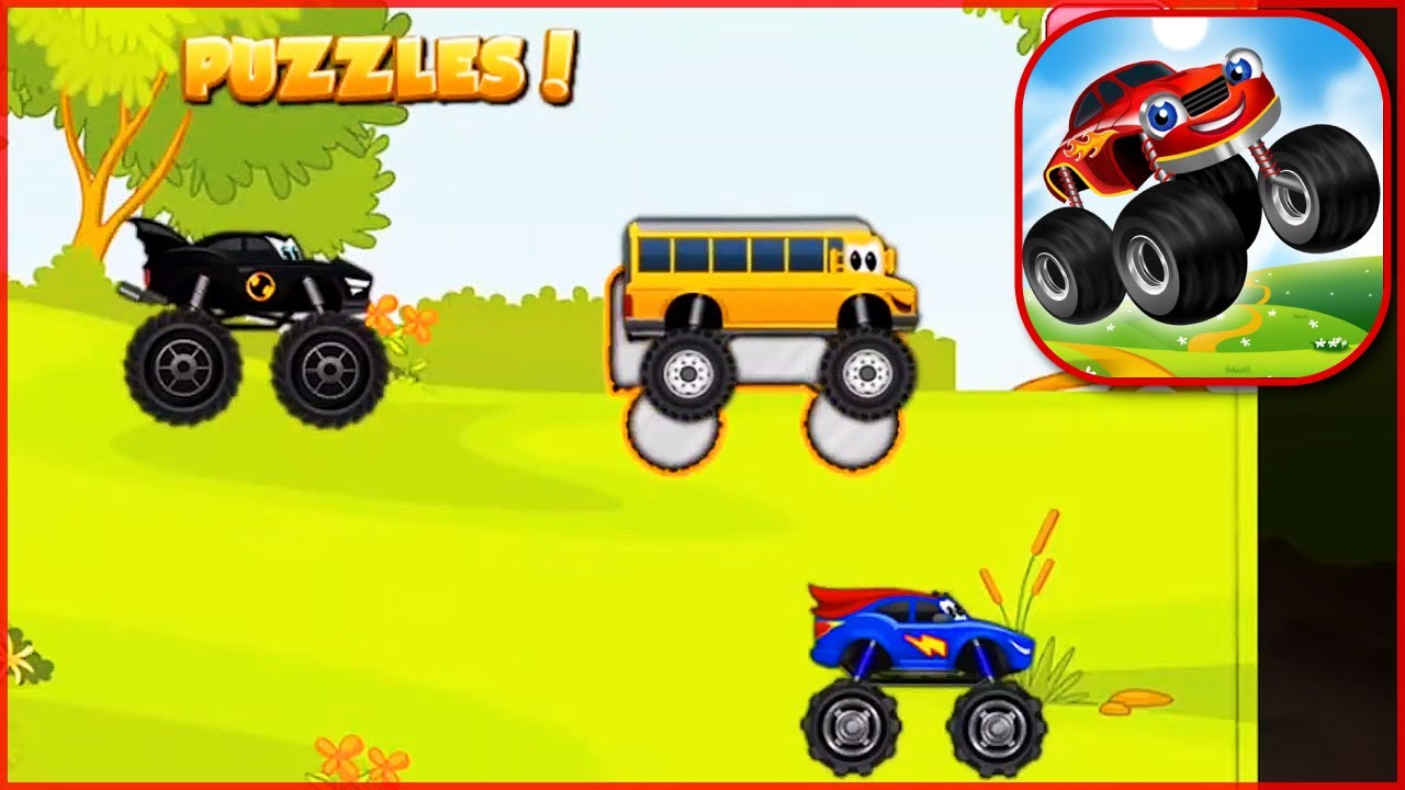 Monster Trucks Kids | Android GAMES FOR KIDS | AnyGameplay ...