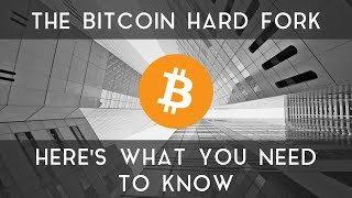 The Bitcoin Hard Fork | Here's what you need to know