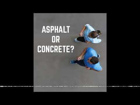 Ep. 208 - Concrete Vs Asphalt
