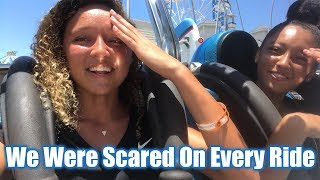 We Were Scared On Every Ride!!!