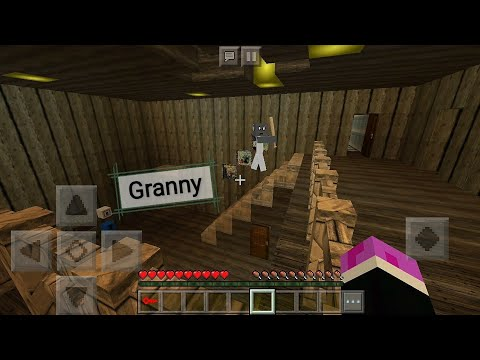 Map Granny In Minecraft PE Free Download 2018
