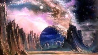 Картина маслом, рисуем вместе! Космос, пейзаж, фантастика.