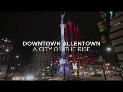 Downtown Allentown Before & After: April 2019