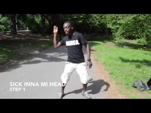 How to dance dancehall: SICK INNA MI HEAD - Blacka Di Danca