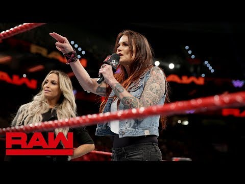 Alexa Bliss & Mickie James think Trish Stratus & Lita's time has passed: Raw, Oct. 15, 2018