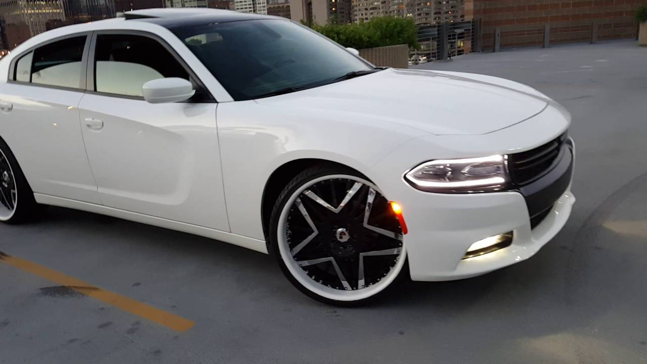 2017 Dodge Charger Rt White >> 2016 Dodge Charger Road and Track Super Trak Pak on 24 ...