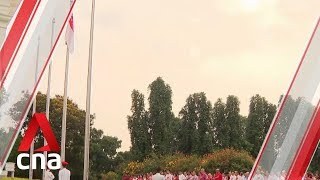 National Day observance ceremonies held across Singapore