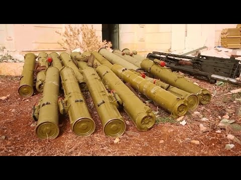 How weapons are smuggled inside Syria | February 2018