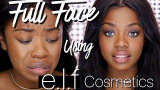 Full Face Using ONLY ELF COSMETICS | Cydnee Black