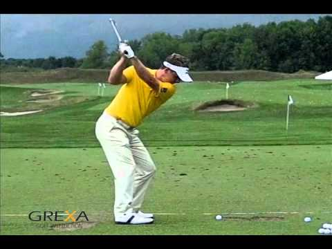 Luke Donald - slow motion golf swing - YouTube