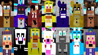 Five Nights at Freddy's 2 ALL ROBLOX Animatronics! (FNAF2)