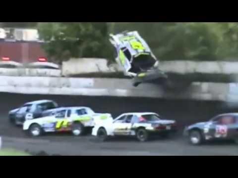 Dirt Racing Crashes - Cryin' Like A B*tch