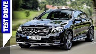 2017 Mercedes-AMG GLC 43 Coupe | TEST Drive + Engine Sound