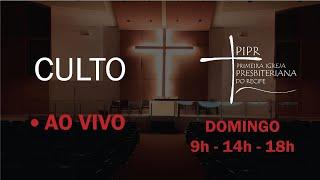 Transmissão ao vivo PIPR | Culto Manhã 02.08.2020 |  Rev. Joselito Gomes | Salmo 126