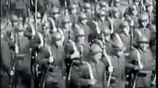 2 Москва, 1932, парад войск и демонстрация, Красная площадь, 1 мая, кинохроника СССР online video cu