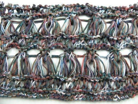 Ajourmuster Erdbeere 061*Stricken lernen*Muster für Pullover*Mütze ...