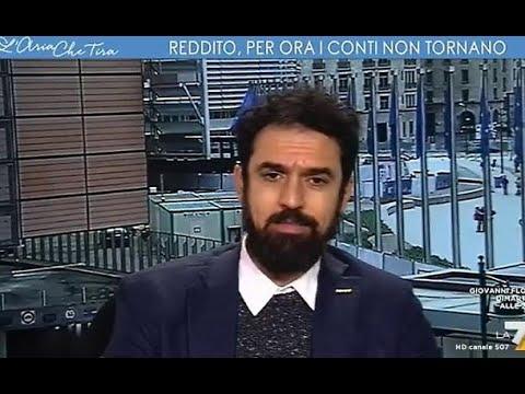 """Il Grillino Giarrusso Attacca, Myrta Merlino Lo Zittisce In Diretta: """"No, Oggi Proprio..."""