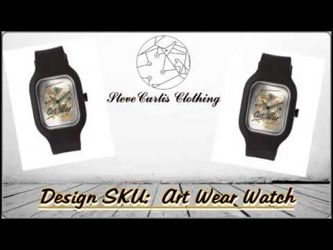 Watch Jewelry For Nike Air Foamposite Pro Gucci White - SteveCurtis Art War Watch