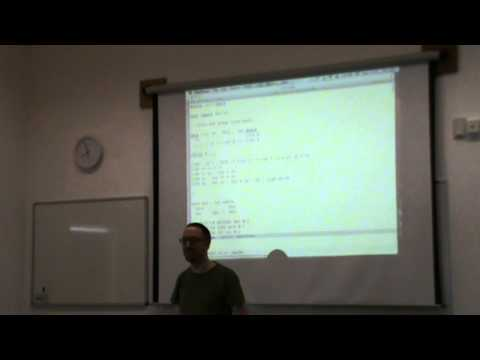 Conor McBride - Dependently-Typed Metaprogramming 1/8: Introduction via Vectors
