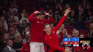 Portland Trail Blazers vs Dallas Mavericks - Full Game Highlights - January 20, 2018