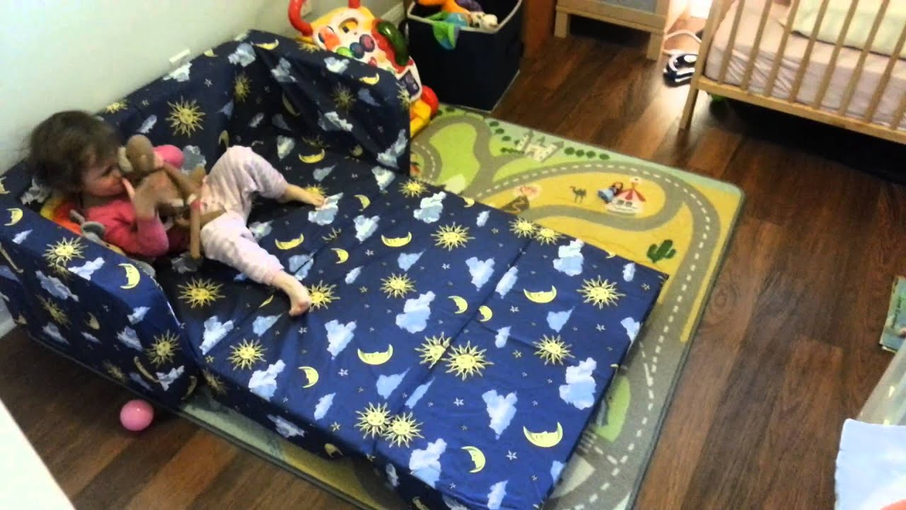 Eloise New Toddler Flip Sofa Pt2   YouTube