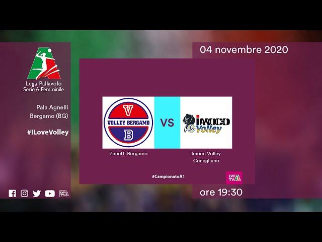 Bergamo - Conegliano | Speciale | 10^Giornata Campionato | Lega Volley Femminile 2020/21