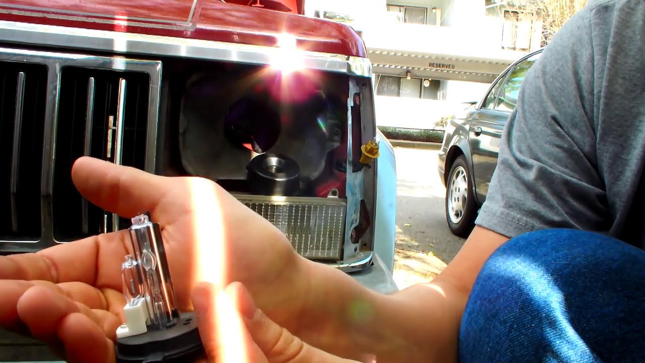 Jeep Cherokee Xj Hid Installation Youtube Wiring
