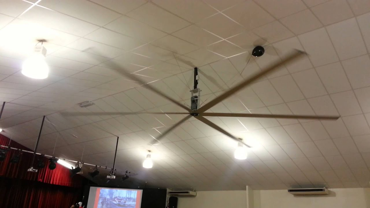 Simple things 02 large ceiling fan in a hall youtube aloadofball Gallery