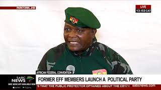 Former EFF members launch political party