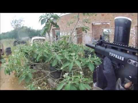 CQB Paintball : Quick 2v3 on Taxi Rank