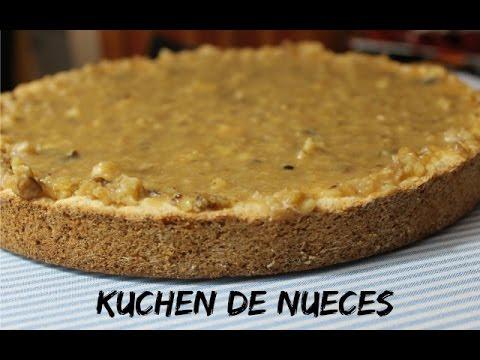 Kùchen kuchen de nueces delicioso fácil cynthia
